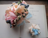 Vintage Fabric Wedding Bouquet