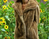 Tissavel Faux Fur Honey Coat
