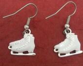 Cute ICE SKATE Earrings - Stunning NEW Ice Hockey