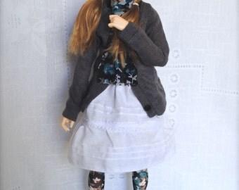 Minifee Mori Dress Set PATTERN