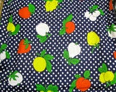 Vintage Fruit Fabric