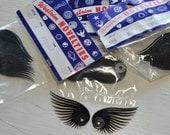 Vintage Westrim Novelities Fantasy Trim Black Plastic Sequin Eyelashes