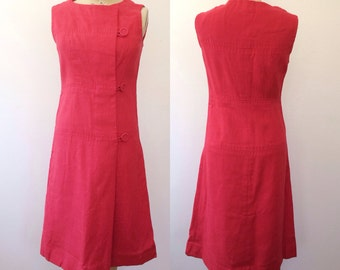 1960s dress / 1960s Mod dress / London Swing dress