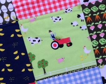 Farmer Boy Baby Quilt