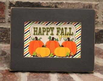 Happy Fall Yall, Fall Decor, Fall Print, Pumpkin Decor,Halloween Decoration, Fall Party Decoration, Thanksgiving Decoration, 4x6 Print
