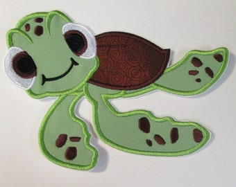 Iron On Applique - Little Turtle