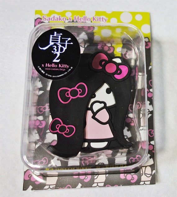 The Ring  Hello Kitty Sadako Samara Magnet hook from JstuffSale on Etsy Studio