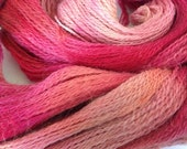 Hand Dyed Lace Weight Yarn 610 yards