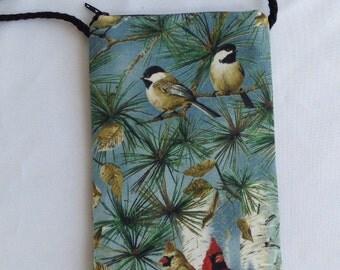 Bird bag, blue
