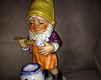 "Co-Boy Goebel ""Sam"" The Gourmet Gnome TMK 4 Made in W. Germany Well 505"