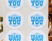 Stickers Thank You Envelope Seals Business Supplies Wedding Baby Shower Party Favor Treat Bag Stickers SP019