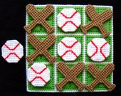 Tic-Tac-Toe Game - Baseballs
