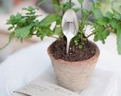 Vintage Flatware Spoon Garden Marker MINT for your Herb Garden.