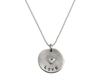 Love Goes Round Personalized Necklace