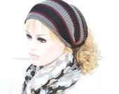 SALE Mens Womens Tube Hat Dread Unisex Grey Black Burgundy  Gray Sock Wrap Headband Dread Band