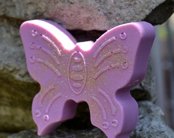 Butterfly Beauty - Summer Soap - Soap for Her - Vegan Soap Butterflies - Butterfly Soap - Easter - Mothers Day - Gift for Her - Party Favor