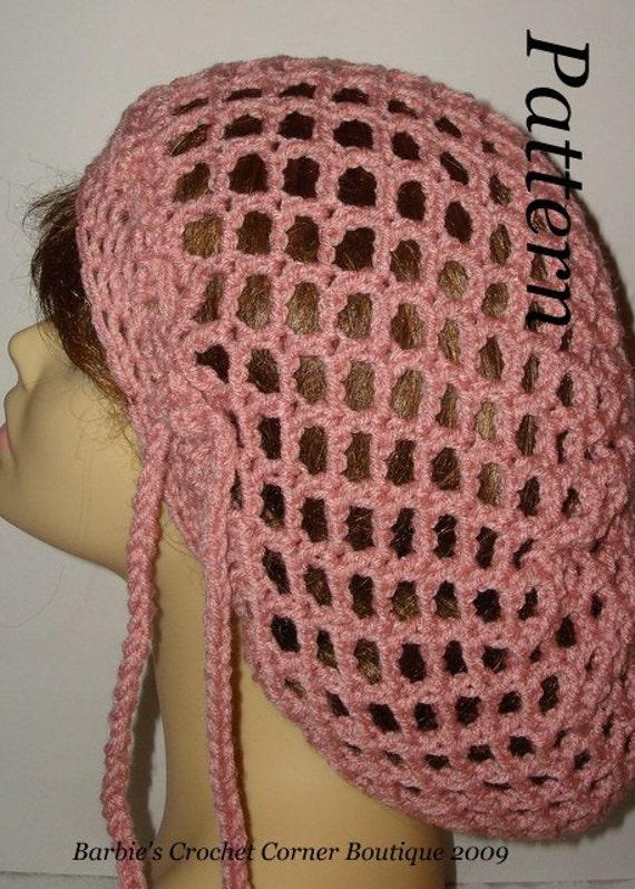 Open Mesh Knitting Stitches : Pattern-Unisex Easy Crochet Slouchy Open Mesh Rasta Tam Hat