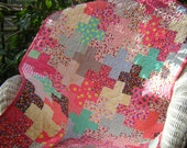 Baby Girl Addition Modern All Cotton Quilt