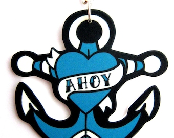 Ahoy Anchor Necklace by Dolly Cool