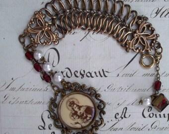 Sancta Maria - Vintage Assemblage Bracelet