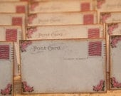 Wedding Place Cards, Vintage  Post Cards Placecards,  Escort Cards,Tent Table Place Cards Quantity 100