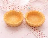 Cupcake Base Miniature / Tart Miniature / Fake Sweets Deco - 7pcs