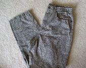 high waist cheetah / leopard pants