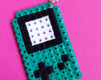 Teal Game Boy Necklace