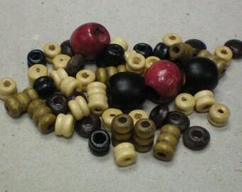 Wood Mix Beads