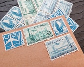 Coast to Coast .. PREMIUM .. UNused Vintage Postage Stamps  .. post 5 letters