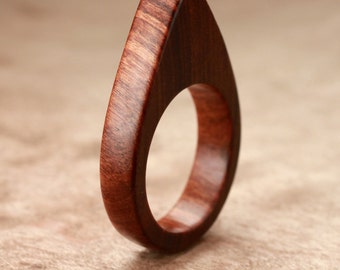 Size 8.5 - Tamboti Wood Ring No. 147