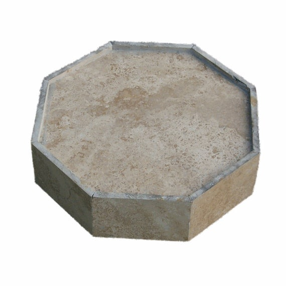 Heavy Duty Plant Container Dolly with Stone Veneer