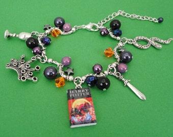 Harry Potter & The Deathly Hallows Charm Bracelet