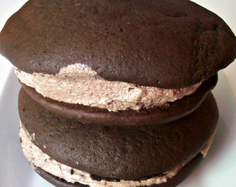 Veganville Vegan Party Chocolate Gift Loaf Chocolate Whoopee Pies Perfect for Birthday and Family