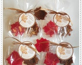Custom Listing- 60 Maple Leaf Handmade Soap Favors