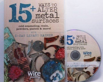 15 + Ways To Alter Metal Surfaces By Susan Kazmer Instructional DVD SALE