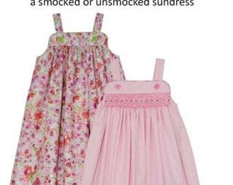 Children's Corner Sewing Pattern Katina Dress Sizes 1-8