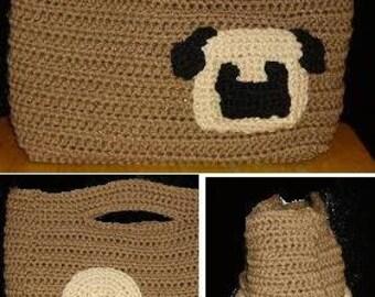 Pug Purse Crochet Pattern