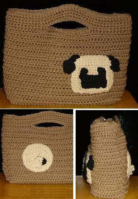 Crochet Pug Pillow Pattern Free Crochet Patterns