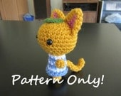 PATTERN - Crochet - Animal Crossing Cat - Tangy Amigurumi