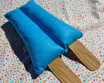 Ice Cream Pillow, Popsicle Plush, Blue Raspberry Popsicle