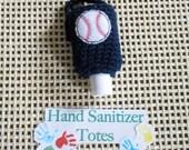 Hand Sanitizer Holder -- Baseball