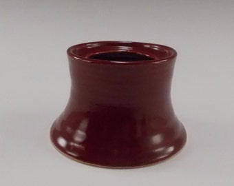 Small Firebrick (Red) pillar candle Holder