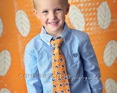 SALE Boy's FALL Neckties- 5 Designs to choose from- Coordinates with all 2013 Fall Dresses