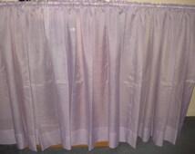 VINTAGE light purple curtain 1 extra wide panel 127 X 43 1/2