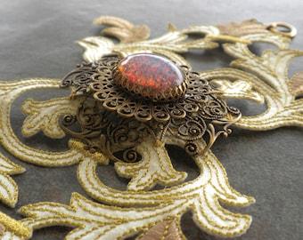 Baroque Jewelry Holiday Fashion Cuff Opal Bracelet