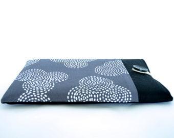Kindle Cover, Samsung Galaxy Tab 4 7 inch to 10.5 inch Galaxy Tab S2, Kobo Aura HD Sleeve Case - Circles
