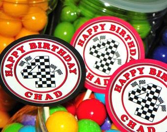 Race Car Party Cupcake Toppers Kit Set of 12. Race Car Cupcake Birthday. Racing Cupcake Picks. Car Birthday Cupcake Picks. Race Car Toppers