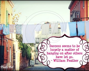 Success Slice of Wisdom Postcard Digital Collage Sheet quotable faulkner greeting cards printable art paper supplies - U Print
