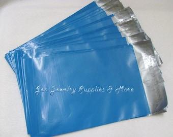 25 6x9 Blue Poly Mailer